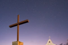 Cross, Stars, Chapel